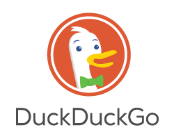 DuckDuckGo transparent logo
