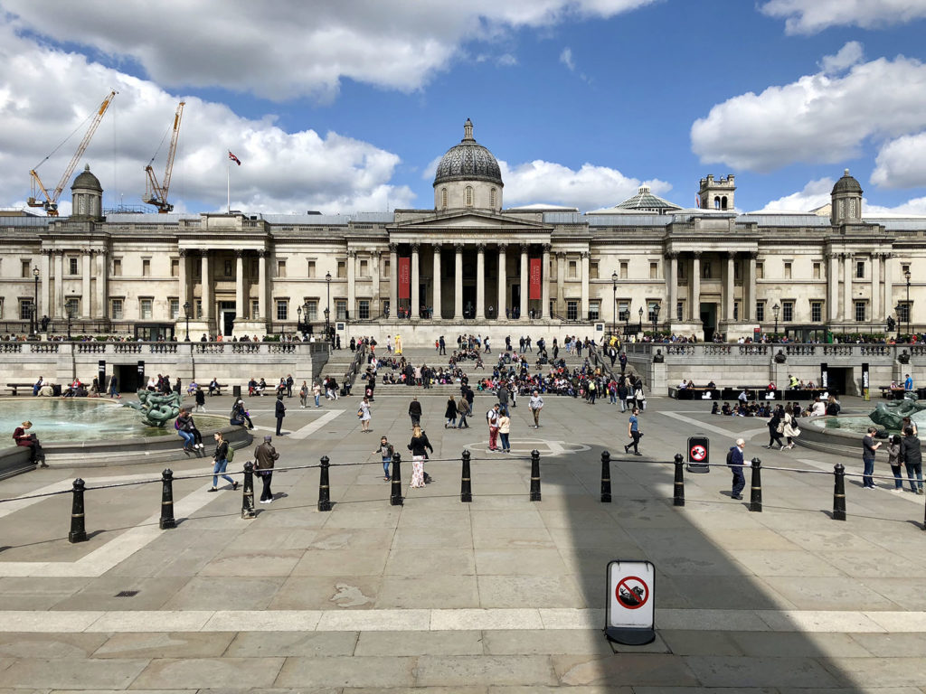 Trafalgar square, National Gallery