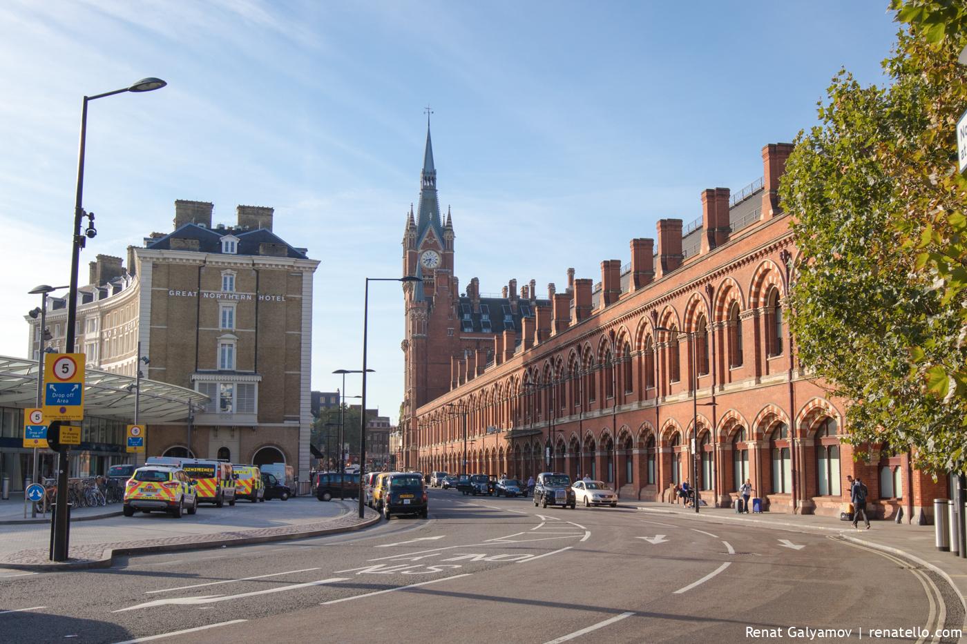 London St Pancras Station