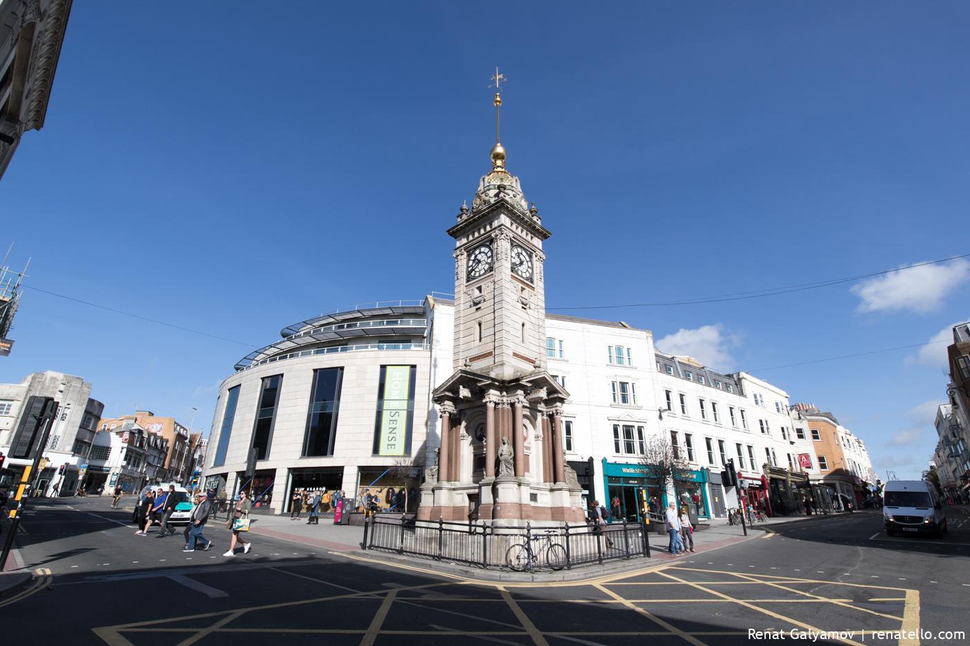 Jubilee Clock Tower in Brighton.