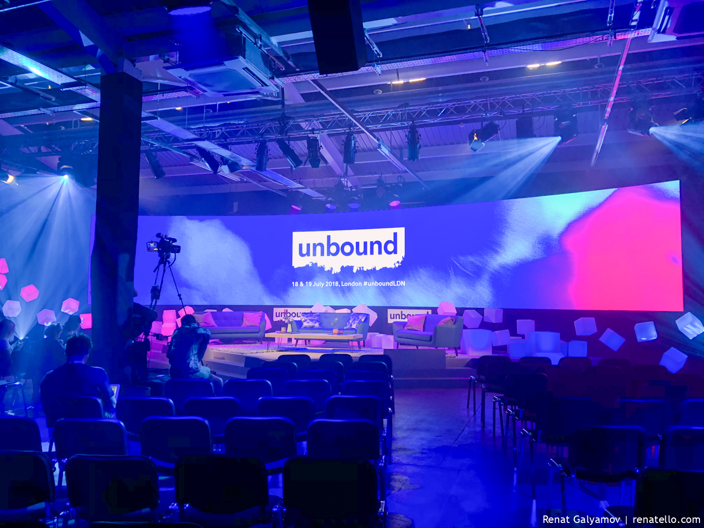 Unbound London main stage