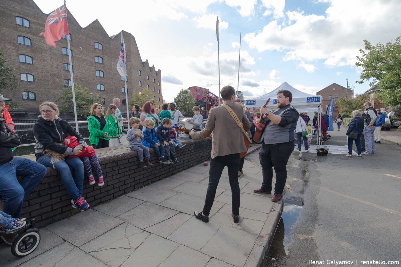 Music at Shadwell Basin Outdoor Activity Centre