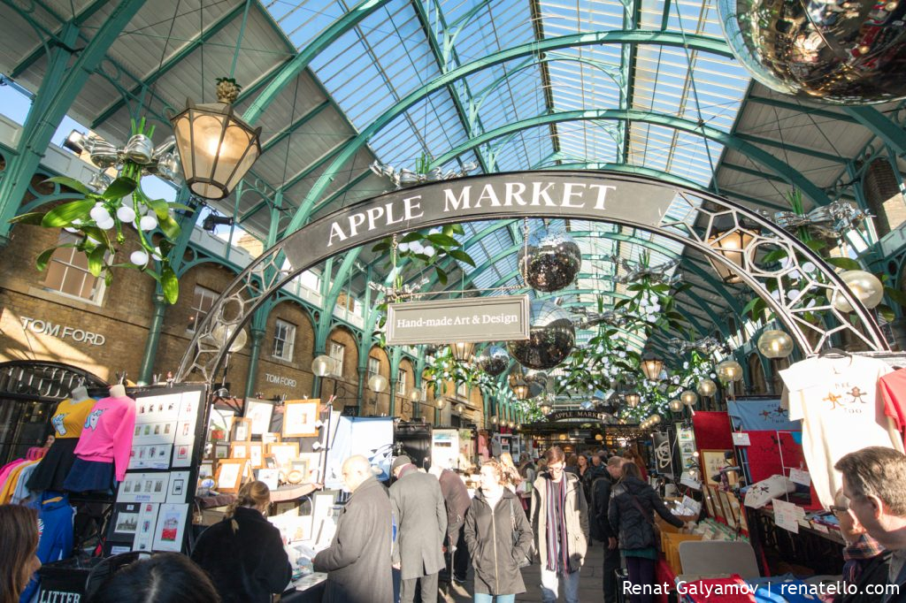Covent Garden Apple Market, The Market, London