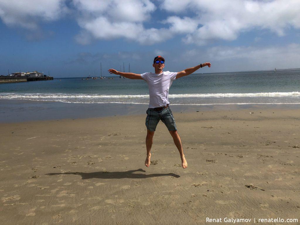 Monterey, California, Del Monte Beach