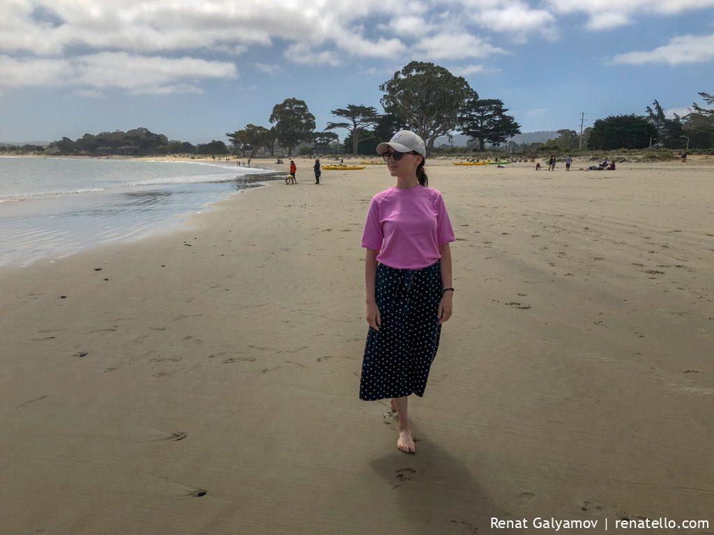 Monterey, California, Beach