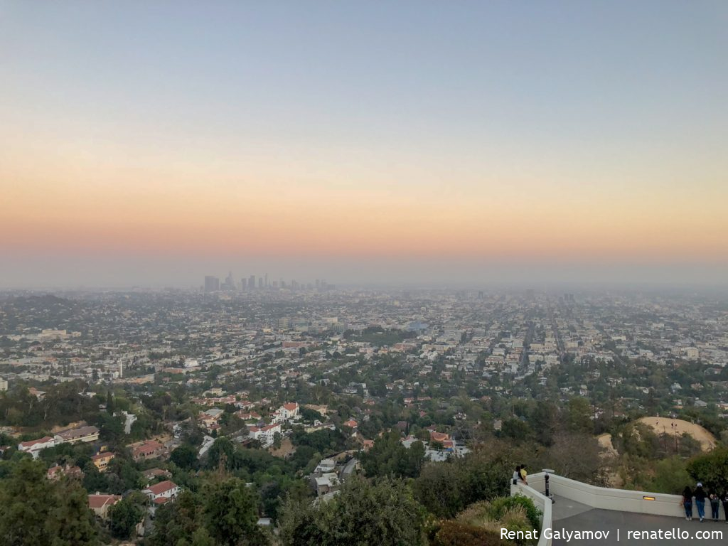 Los Angeles Downtown from the Griffith Observatory