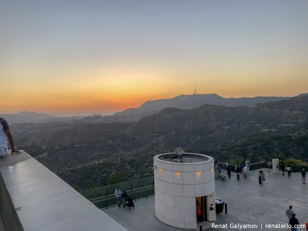 The Hollywood Hills in Los Angeles