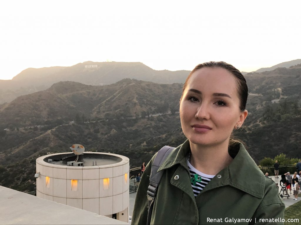Amina in Griffith Observatory, Los Angeles