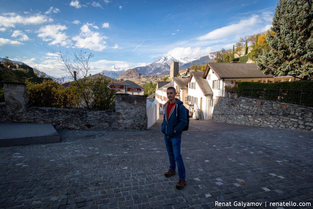 Renat Galyamov in Sion, Switzerland