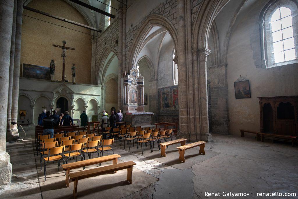 Inside Valère Basilica
