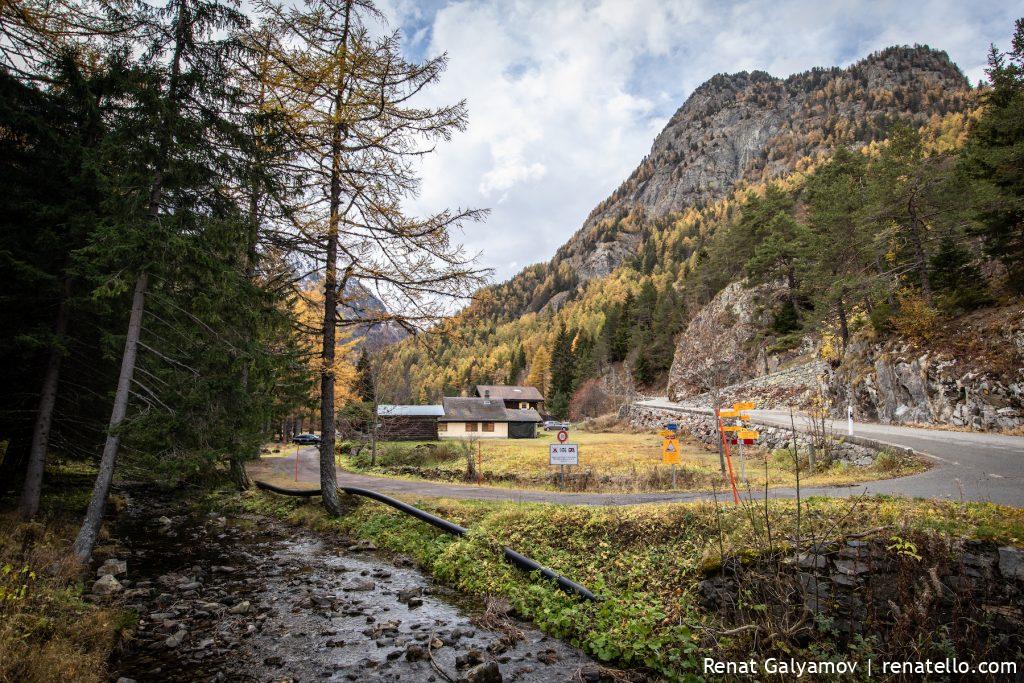 Gorges du Dailley (The Dailley Gorge), Swizerland, Swiss mountains