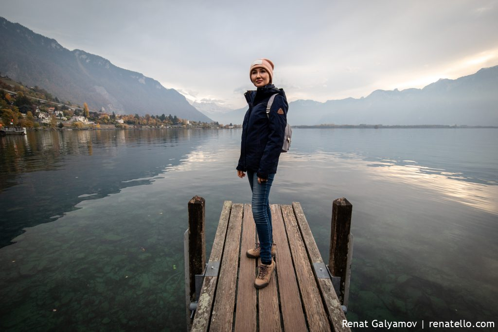 Amina by the Lake Geneva in Montreux, Swizerland.