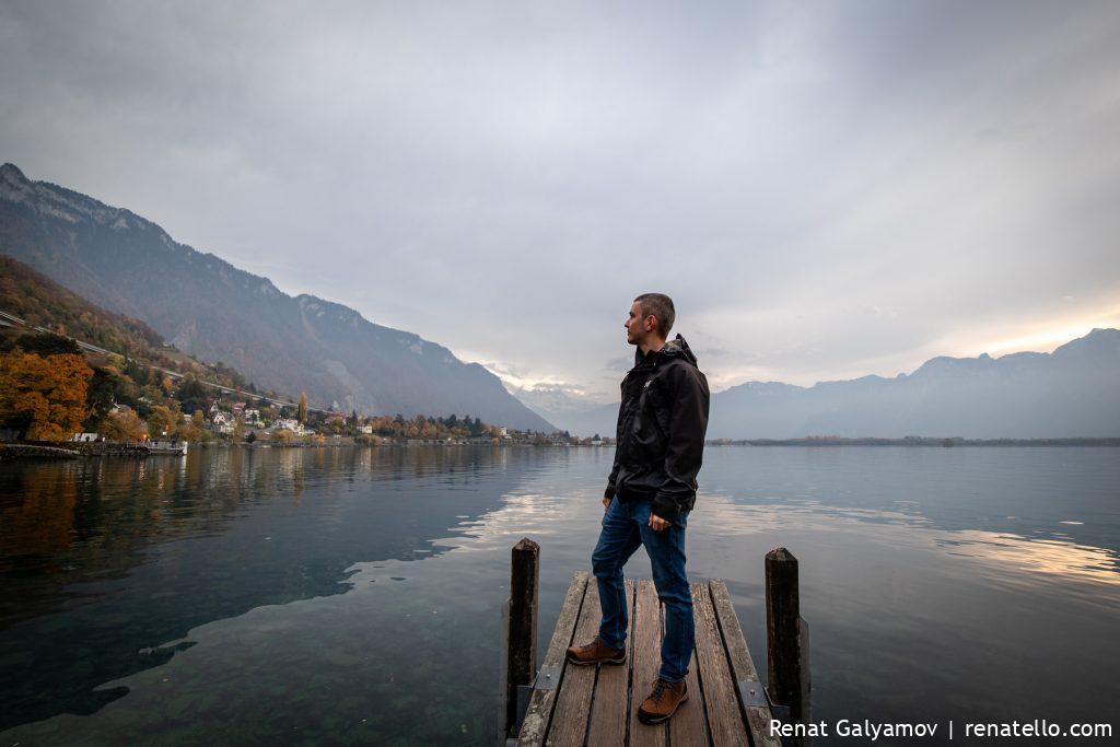 Renat Galyamov in Montreux, Swizerland.