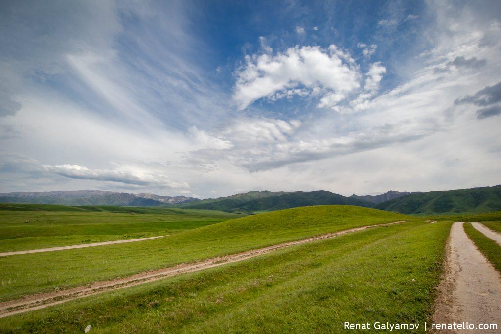 Kastek gorge in Kazakhstan (ущелье Кастек, Казахстан)