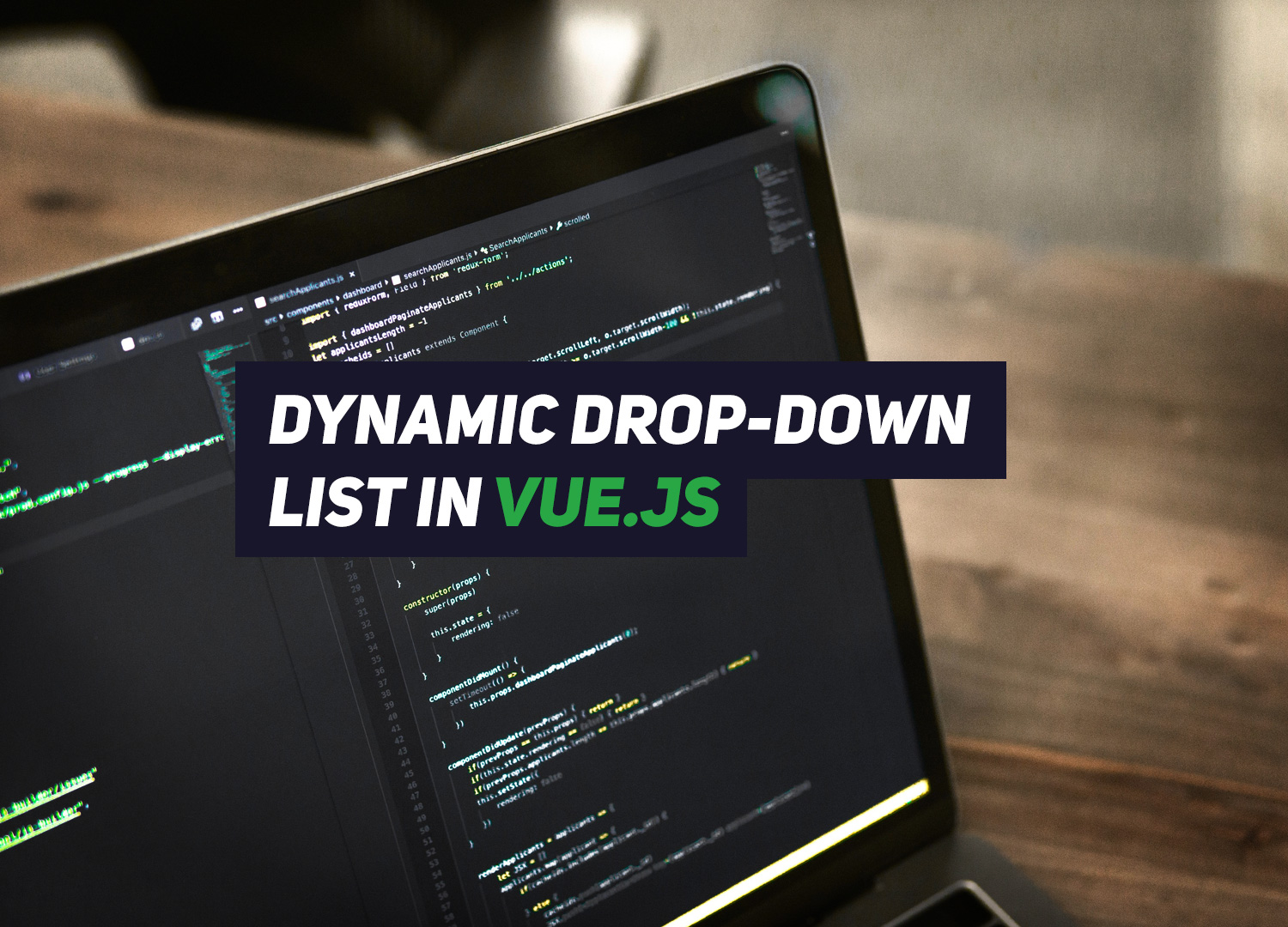 How to dynamically create a drop-down list in Vue js – Renat