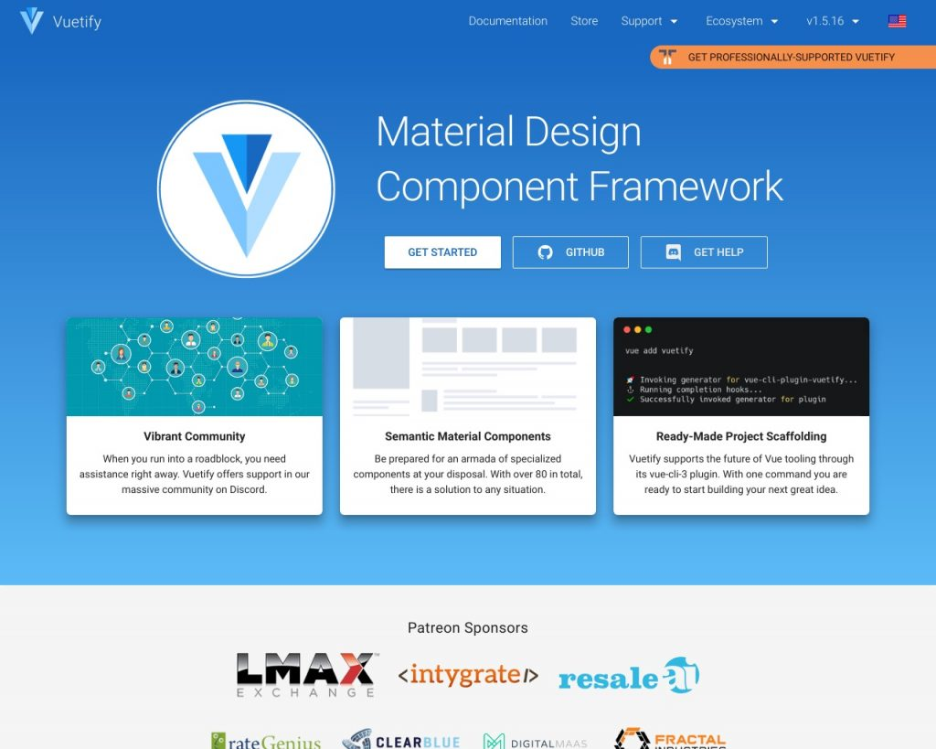 Top 5 CSS frameworks for your Vue js project (2019) – Renat