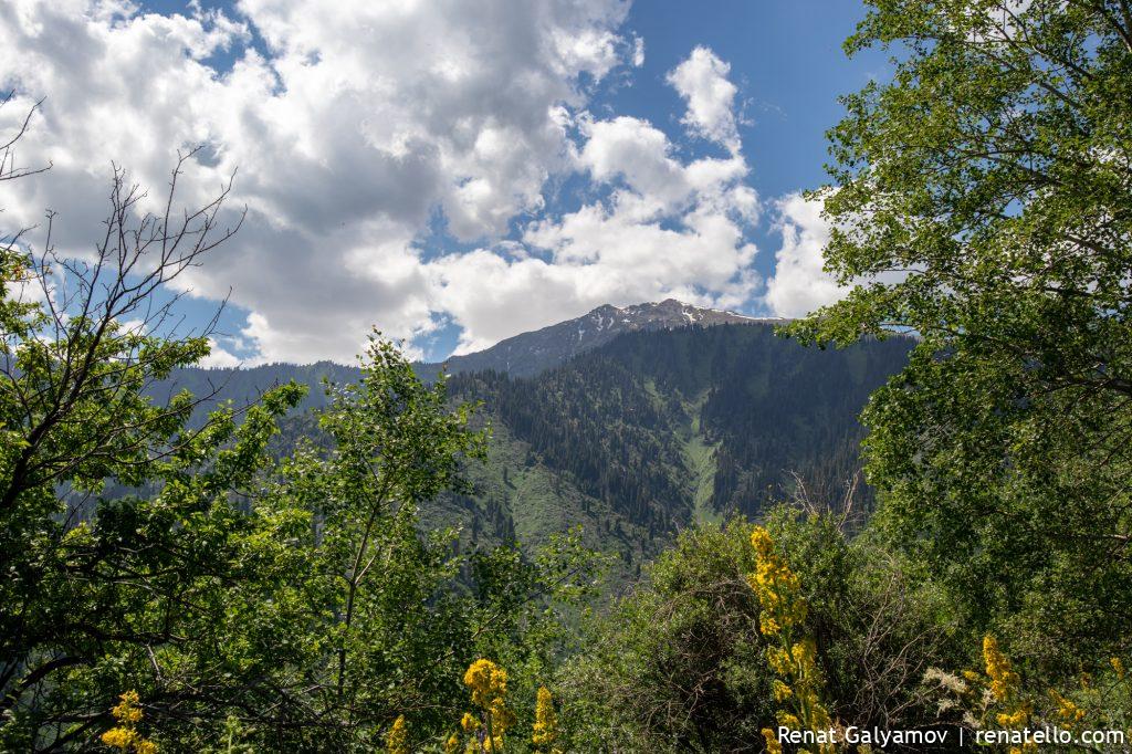 Kumbel Peak View, Almaty, Kazakhstan